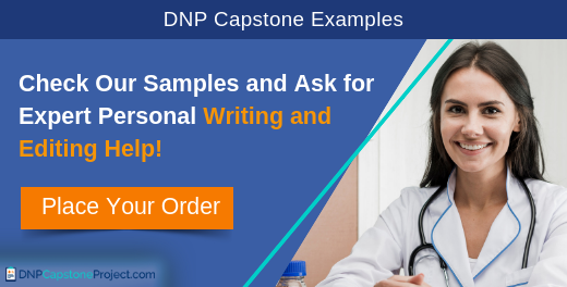 dnp capstone project examples and help
