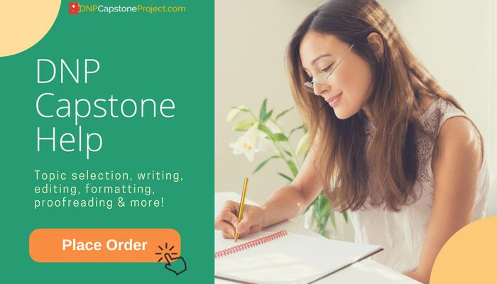 dnp capstone project writers help