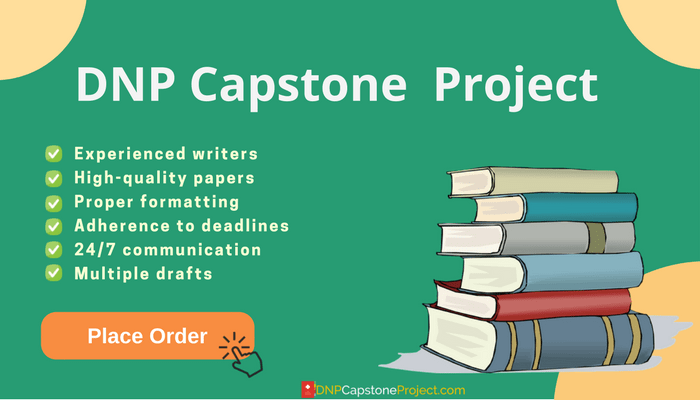 writing dnp capstone project with professionals