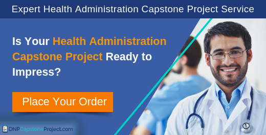 helpful ideas for public health administration capstone