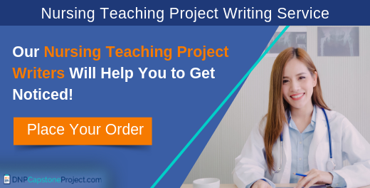 quality help with teaching projects for nursing students