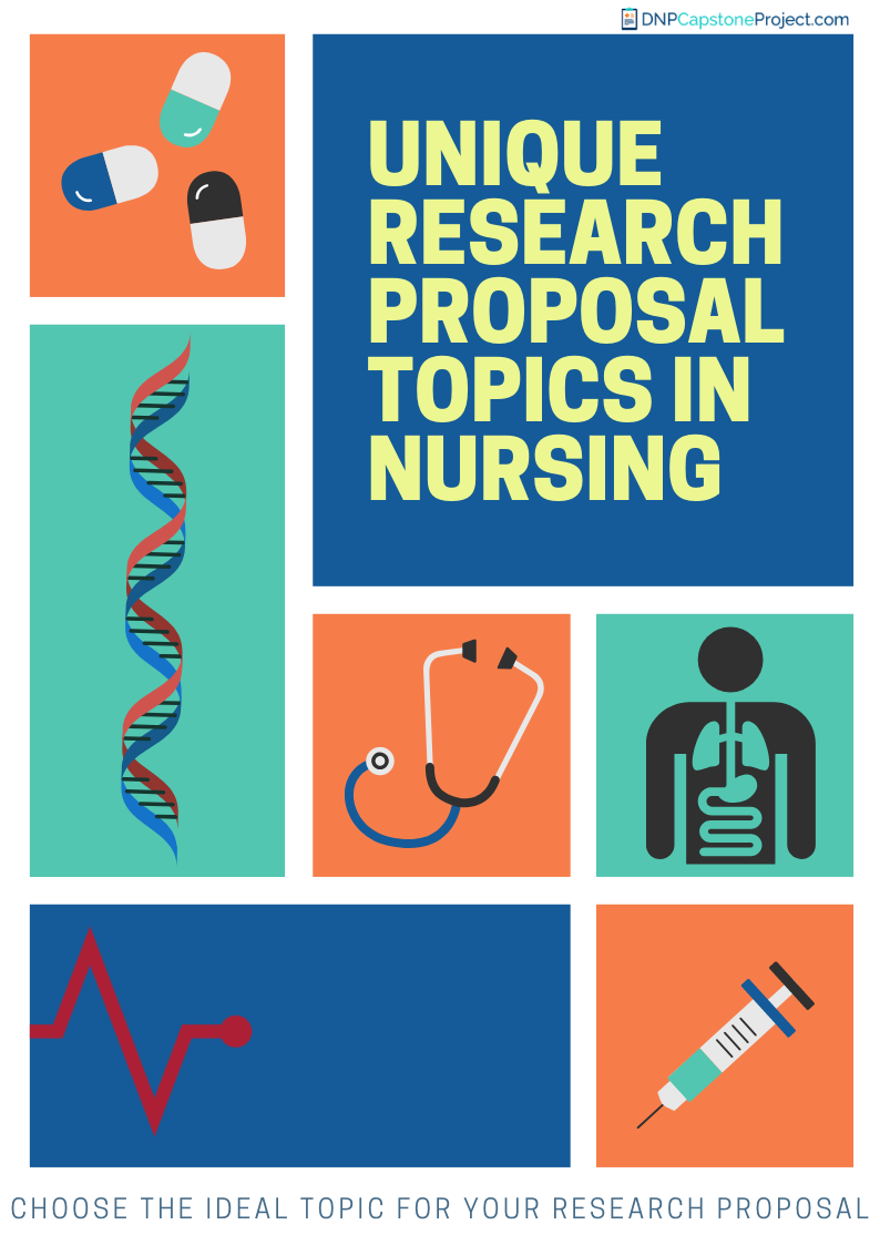 unique research proposal topics in nursing